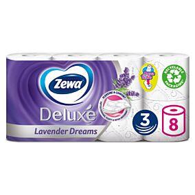 Χαρτί υγείας ZEWA Deluxe Lavender Dreams (8τεμ.)