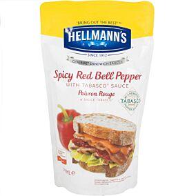 Σάλτσα HELLMANN'S κόκκινο πιπέρι (570ml)