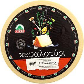 Τυρί ΤΥΡΑΣ κεφαλοτύρι αγελάδος (~5kg)