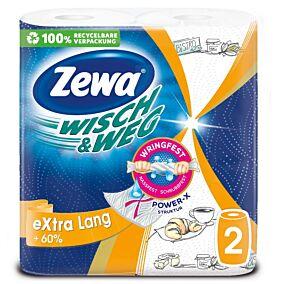 Ρολό κουζίνας ZEWA WISCH & WEG extra lang (2τεμ.)