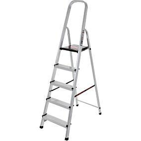 Σκάλα PALBEST Hobby αλουμινίου, 4+1 σκαλιών
