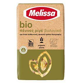 Πάστα ζυμαρικών MELISSA πέννες ριγέ βιολογικές (bio) (500g)
