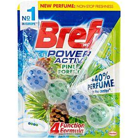 Αποσμητικό τουαλέτας BREF block natura pine power active, υγρό