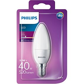 Λάμπα PHILIPS LED 5,5W E14 B35