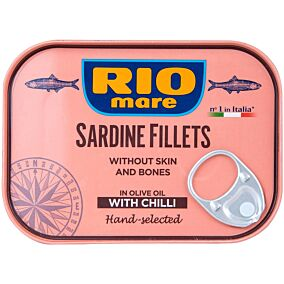 Κονσέρβα RIO MARE φιλέτο σαρδέλας με τσίλι (105g)