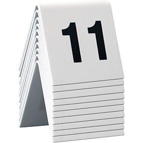 Ταμπελάκι αρίθμησης τραπεζιών SECURIT, 11-20