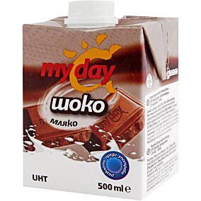 Γάλα MY DAY choco σοκολατούχο υψηλής παστερίωσης (500ml)