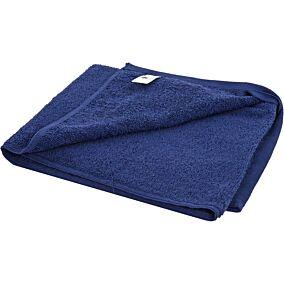 Πετσέτα YASEMI προσώπου 100% βαμβακερή μπλε 50x100cm