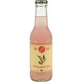 Αναψυκτικό THREE CENTS Pink Grapefruit Soda (200ml)