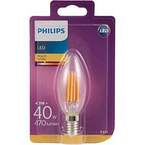 Λάμπα PHILIPS LED 4W E14 B35
