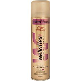 Spray μαλλιών WELLAFLEX εξαιρετικά δυνατό κράτημα (400ml)