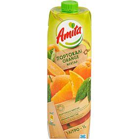Χυμός AMITA νέκταρ πορτοκάλι (1lt)