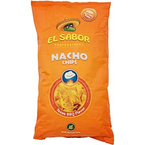 Τσιπς τορτίγια NACHO CHIPS Texas barbeque (500g)