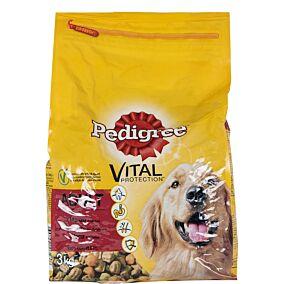 Τροφή PEDIGREE σκύλου adult με μοσχάρι και λαχανικά (3kg)