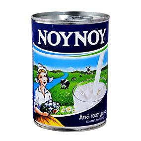 Γάλα ΝΟΥΝΟΥ εβαπορέ πλήρες (48x400g)