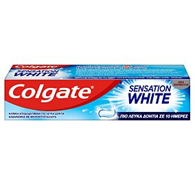 Οδοντόκρεμα COLGATE SENSATION WHITE (75ml)