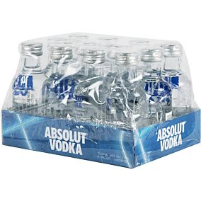 Βότκα ABSOLUT 40% vol. (12x50ml)