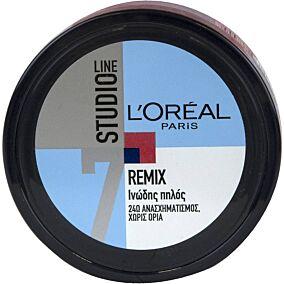 Κρέμα φιξαρίσματος μαλλιών L'OREAL studio line remix (150ml)