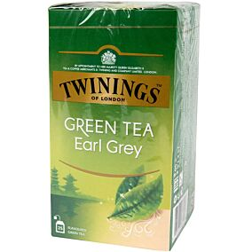 Τσάι TWININGS green tea early grey (25x1,6g)
