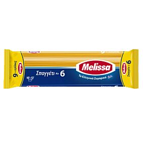 Μακαρόνια ΜΕΛΙΣΣΑ σπαγγέτι Νο6 (500g)