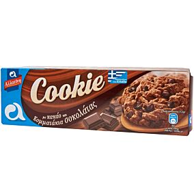 Μπισκότα ΑΛΛΑΤΙΝΗ cookie chocolate chip (175g)