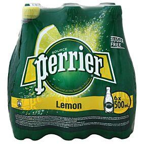 Νερό PERRIER ανθρακούχο lemon (6x500ml)