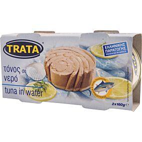 Κονσέρβα TRATA τόνος σε νερό (2x160g)
