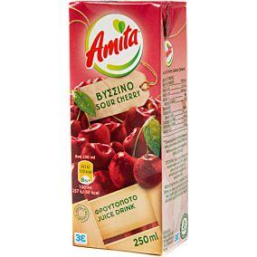 Χυμός AMITA βύσσινο (27x250ml)