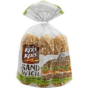 Ψωμί ΚΡΙΣ ΚΡΙΣ για σάντουιτς ολικής άλεσης (480g)