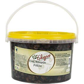 Ελιές ΕΛΙΑΓΝΗ καλαμών ροδέλα (3kg)
