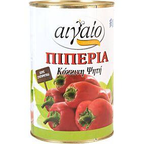 Πιπεριά ΑΙΓΑΙΟ κόκκινη ψητή (2,5kg)
