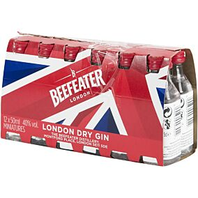 Τζιν BEEFEATER Dry (12x50ml)