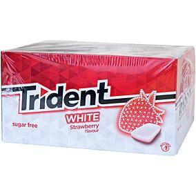 Τσίχλες TRIDENT White Mini φράουλα (100τεμ.)