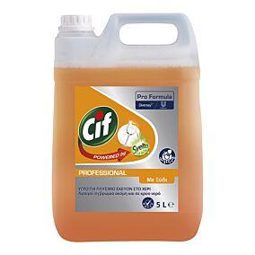 Απορρυπαντικό πιάτων CIF powered by svelto Pro ξύδι, υγρό (5lt)
