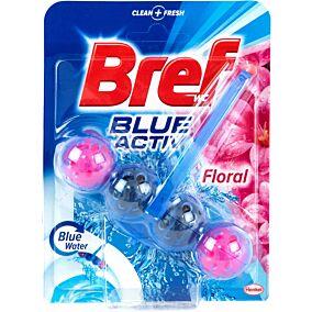 Αποσμητικό τουαλέτας BREF block blue active floral