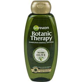 Σαμπουάν GARNIER botanic therapy mythic olive για ταλαιπωρημένα μαλλιά χωρίς ζωντάνια (400ml)