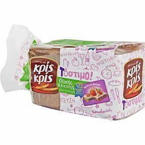 Ψωμί ΚΡΙΣ ΚΡΙΣ τόστιμο ολικής άλεσης (400g)