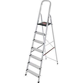 Σκάλα PALBEST Hobby αλουμινίου, 6+1 σκαλιών