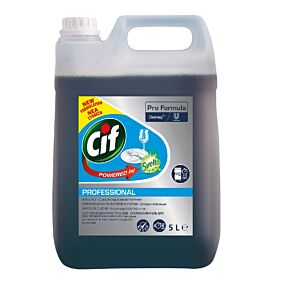 Απορρυπαντικό CIF powered by Svelto Pro πλυντηρίου πιάτων στεγνωτικό, υγρό (5lt)