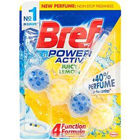 Αποσμητικό τουαλέτας BREF block power active με άρωμα λεμόνι