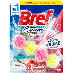 Αποσμητικό τουαλέτας BREF block power active hawaii