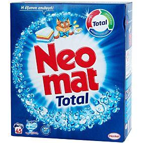 Απορρυπαντικό NEOMAT πλυντηρίου ρούχων, σε σκόνη (45μεζ.)