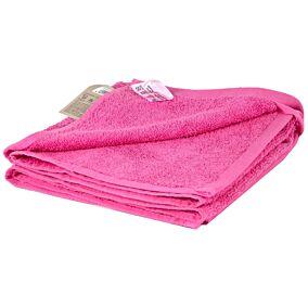 Πετσέτα YASEMI προσώπου 100% βαμβακερή φούξια 50x100cm