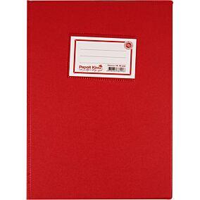 Τετράδιο PAPER KING 17X25cm κόκκινο 50φύλλων