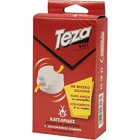 Δόλωμα για κατσαρίδες TEZA (4τεμ.)