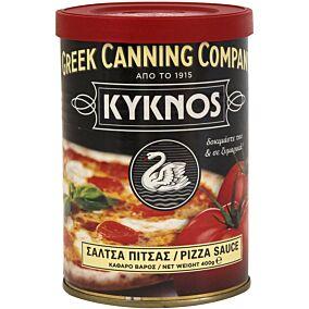 Σάλτσα ΚΥΚΝΟΣ για πίτσα και ζυμαρικά έτοιμη (400g)