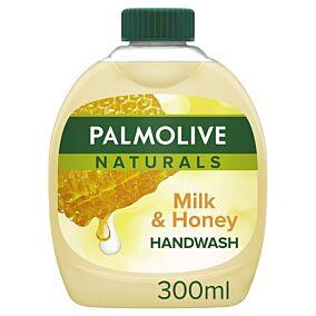 Κρεμοσάπουνο PALMOLIVE milk & honey, ανταλλακτικό (300ml)
