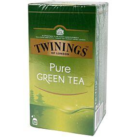 Τσάι TWININGS green tea pure (25x2g)