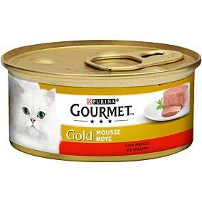 Τροφή GOURMET gold γάτας βοδινό (85g)