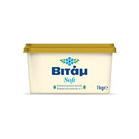 Μαργαρίνη ΒΙΤΑΜ 3/4 soft 60% λιπαρά (8x1kg)